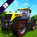 Tractor Trolley Simulator Farming- Cargo Games 3d icon