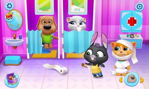 My Talking Tom Friends 1.2.1.3 screenshots 2