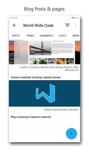 studio for wp - manage blogs screenshot 3