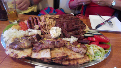 Photo: Typical mixed grill dish to feed a family!