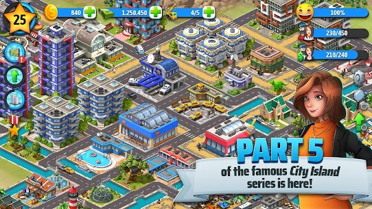 City Island 5 – Tycoon Building Simulation Offline Mod 1.11.3 Apk [Unlimited Money] 2