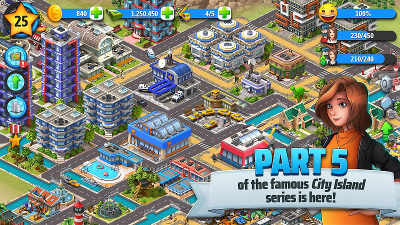City Island 5 - Tycoon Building Simulation Offline Screenshot 2