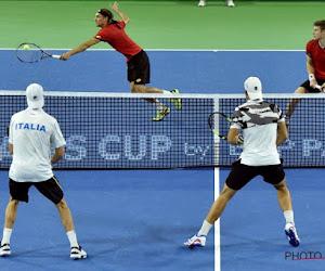 Coupe Davis: L'Italie remporte le Double
