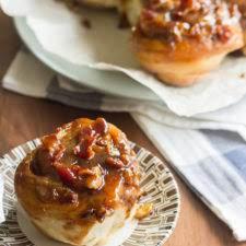 Bourbon-Maple Bacon Sticky Buns