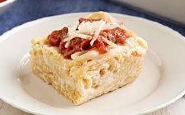 Creamy Baked Spaghetti Recipe