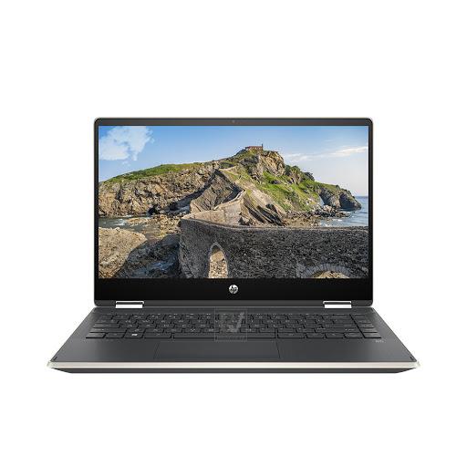 Máy tính xách tay/ Laptop HP Pavilion X360 14-dh0103TU (6ZF24PA) (i3-8145U) (Vàng)