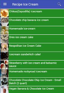 Recipe Ice Cream - náhled