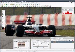 Active Pixels Photoshop clone