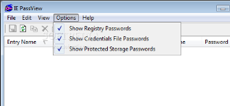 Recover  IE-Pass View