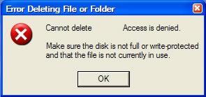 Delete Undeletable Files