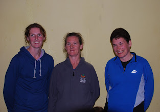 Photo: 1st three Ladies home in the 7km Race - 2nd Rosie Casey, Clonmel A.C., 1st Martina Ryan, Thurles Crokes A.C. & 3rd Aisling Hoey, Moycarkey Coolcroo A.C.