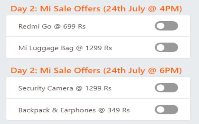 Mi 5Rs Flash Sale Auto Buy