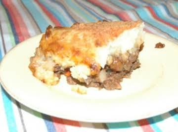 Bison Shepherds Pie