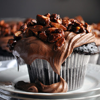The BEST Chocolate Cupcake.