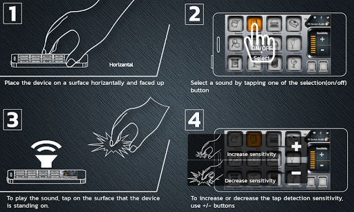 HitSenseAudio screenshot