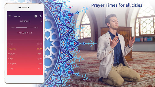Prayer Times Pro screenshot 2