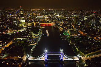 Photo: The lighting makeover of Tower Bridge will reduce energy consumption by 40%.