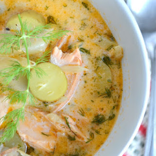 Salmon and Fennel Chowder