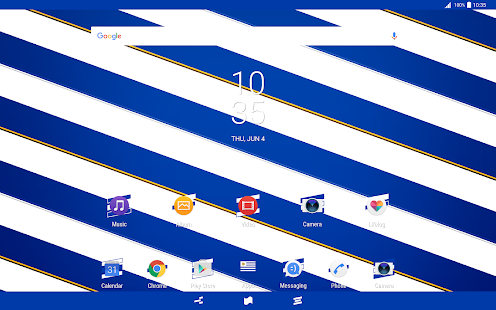 Download Uruguay Flag Theme for XPERIA For PC Windows and Mac apk screenshot 5