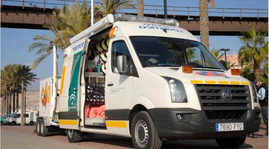 Fallece una mujer de 40 años al ser atropellada en la N-340 en El Ejido
