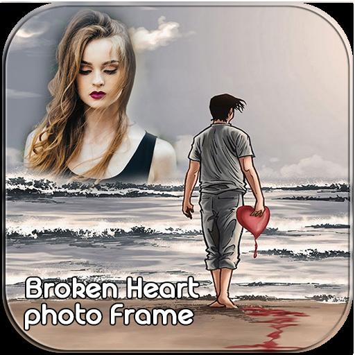 Broken Heart Photo Frames