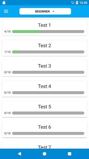 IELTS Grammar Test 2.1.0 screenshots 1