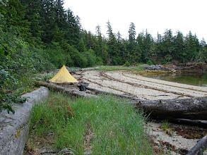 Photo: My campsite in Hobart Bay.