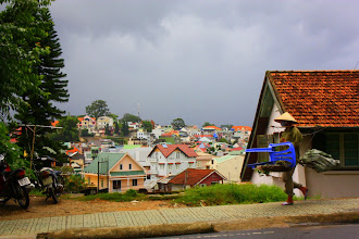 Photo: Year 2  Day 16  -  A View of Dalat's Housing