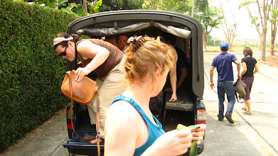 Photo: Jumping out of the truck, it fits ten people