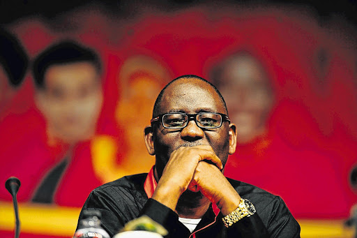 Cosatu general secretary Zwelinzima Vavi. File photo.
