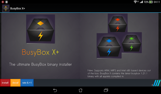 BusyBox X Pro vX+ 105 [Root] [Patched] [Latest] | APK4Free