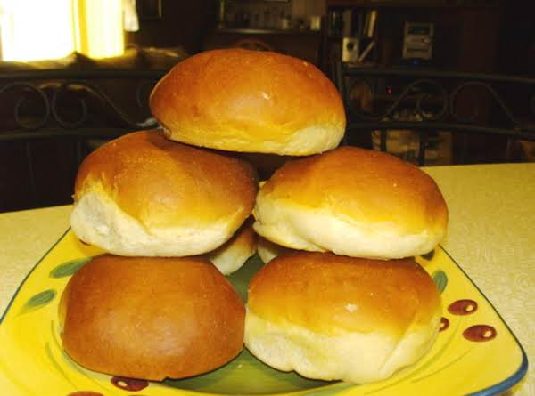 Homemade Hamburger Buns Recipe