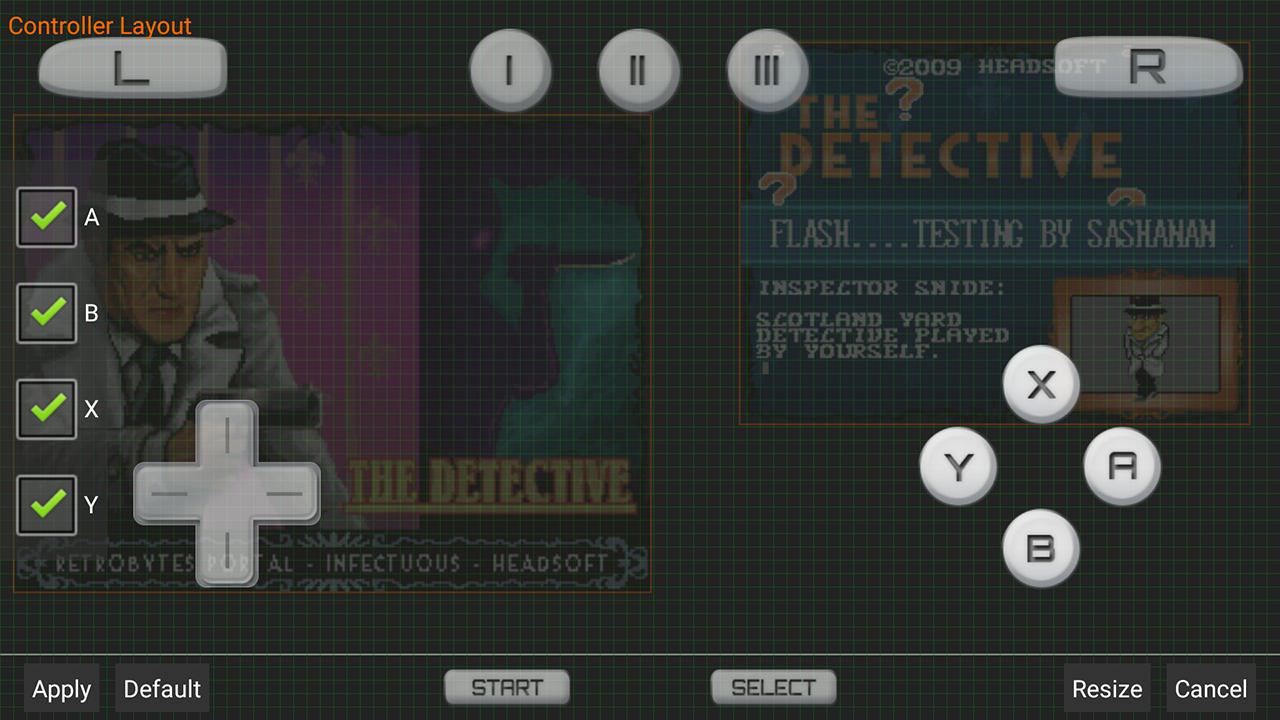 DraStic DS Emulator screenshots
