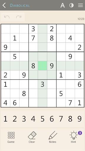 Sudoku classic screenshot 2
