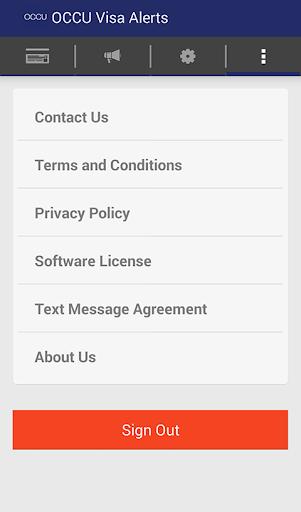 OCCU Alerts screenshot 4