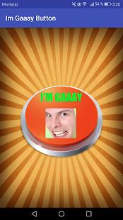 I'm Gaaay Button - náhled
