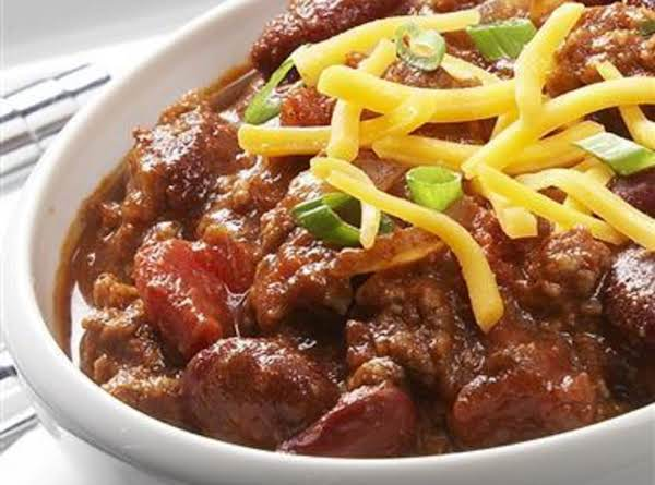Sunday Football Chili Recipe