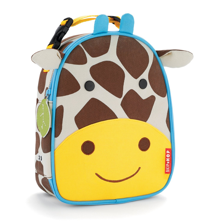 Skip Hop Zoo Lunchie Insulated Lunch Bags - Giraffe by GREEN WHEEL INTERNATIONAL SDN BHD