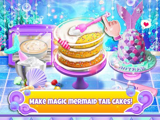 Unicorn Chef: Mermaid Cooking Games for Girls 2.1 screenshots 8