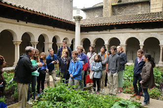 Photo: Getting Medieval in the Cloister at Vienne