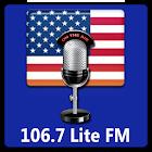 106.7 Lite FM icon