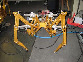 Photo: In-development off-world crawler