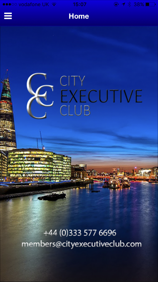 City Executive Club- screenshot