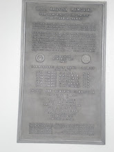 Photo: memorial plaque