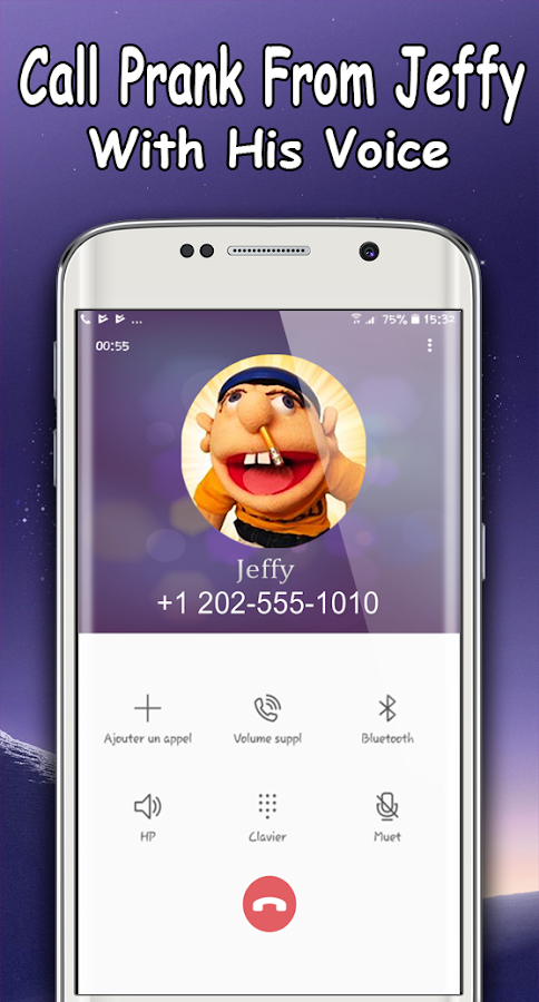 Jeffy The Puppet : Free Fake Call- screenshot