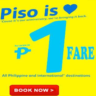 Tải Promo Piso fare Seat Sale App miễn phí