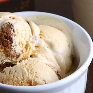 Pumpkin Gingersnap Ice Cream