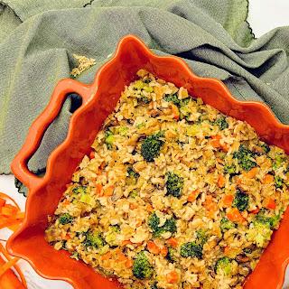 Veggie Rice Casserole.