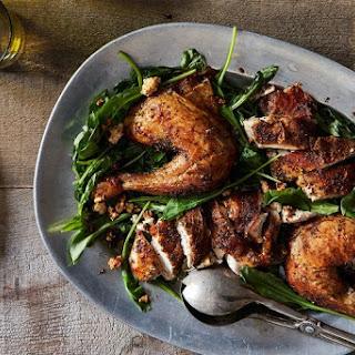Melissa Clark's Feta-Brined Roast Chicken.
