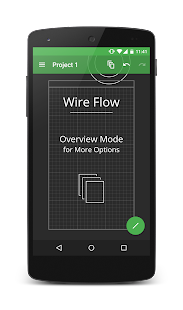 Wire Flow Wireframe Design- screenshot thumbnail
